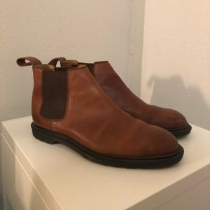 Dr. Martens Brown Leather Chelsea Boots Size 9